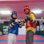 campeão de taekwondo