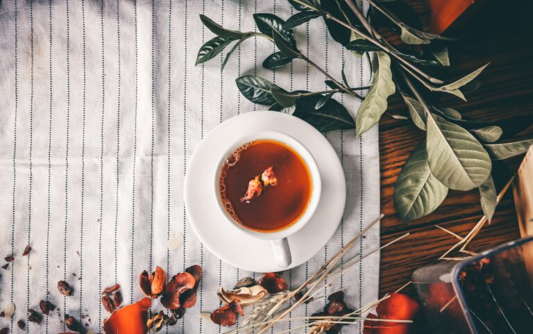diferença entre chás e infusões