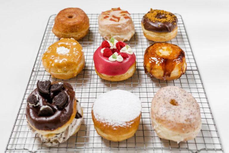 doughnuts veganos