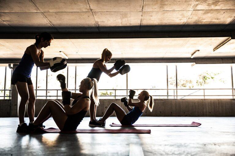 treinar desportos de combate