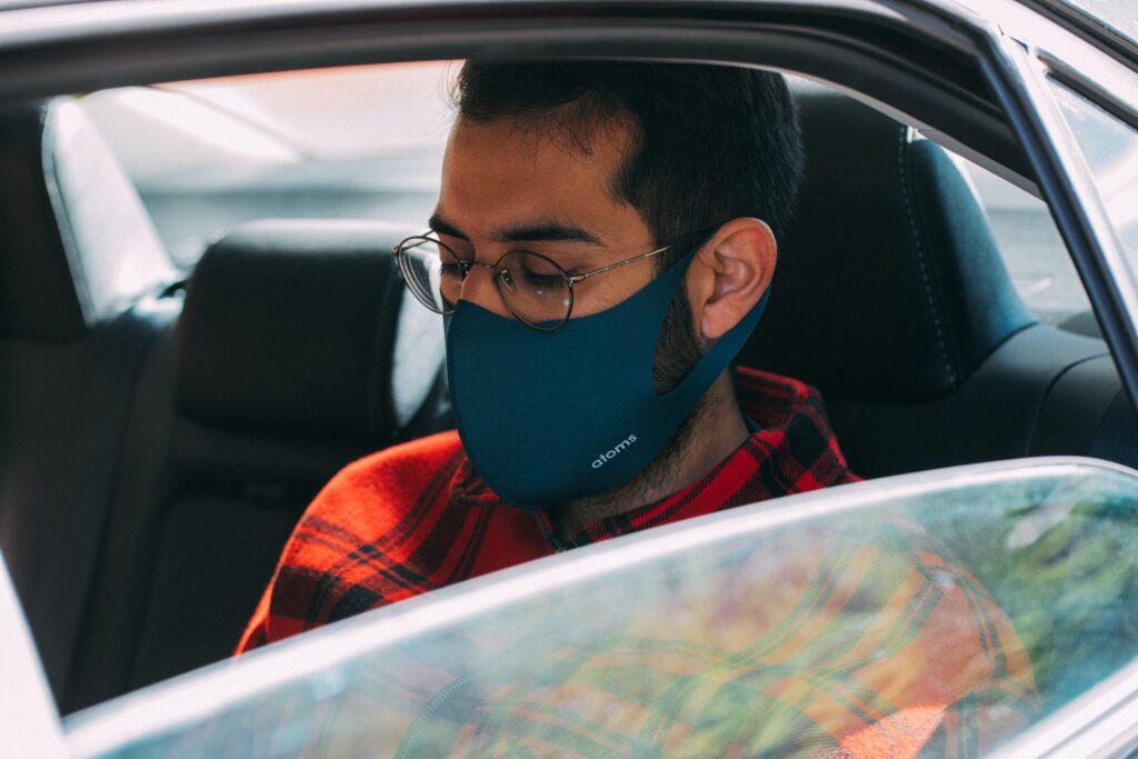 Utilização de máscara