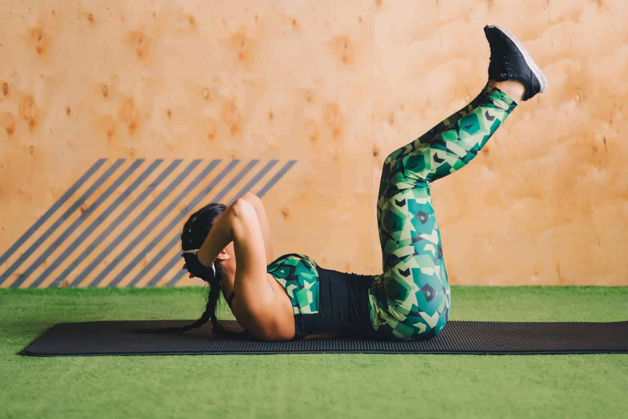 fortalecer os abdominais
