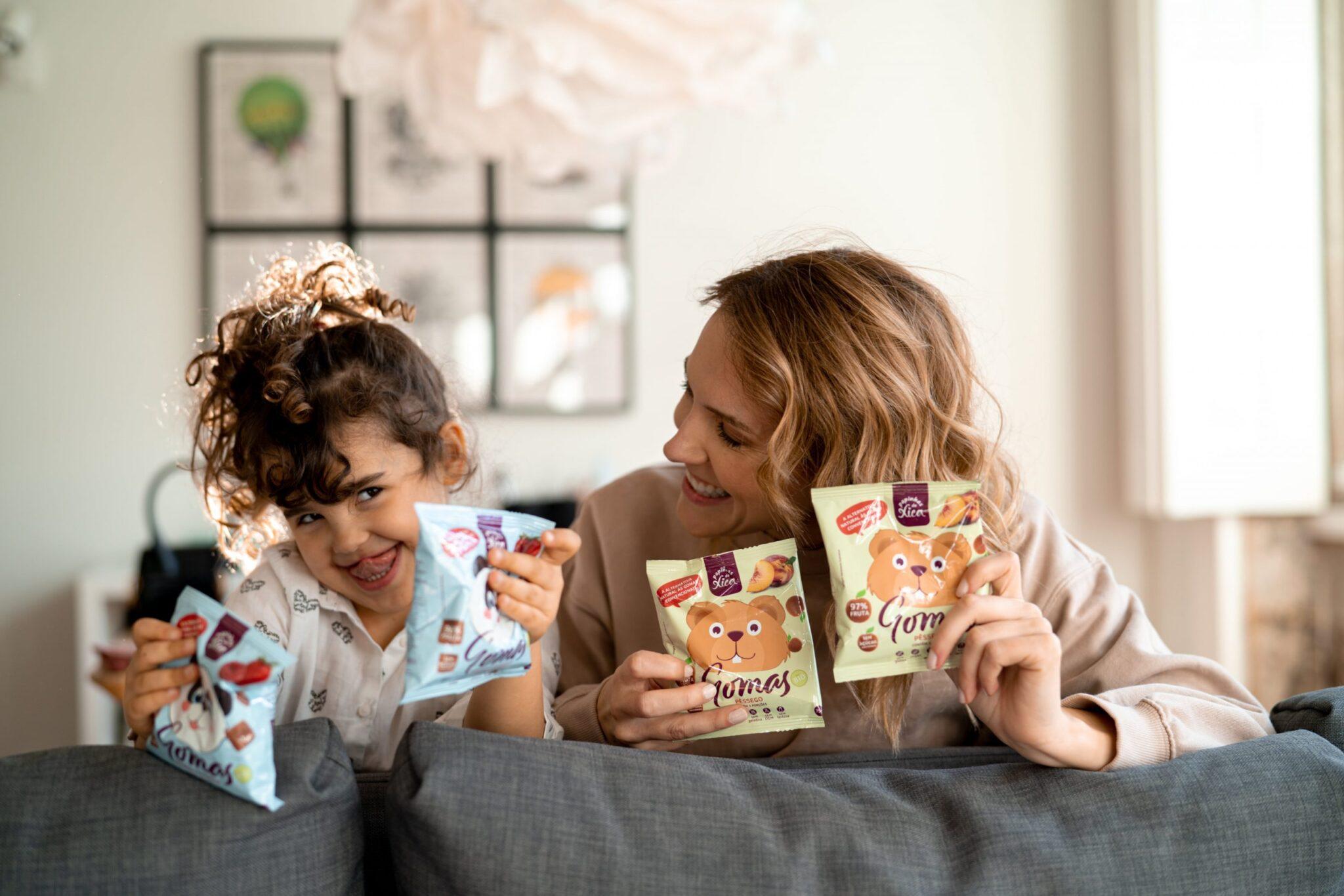 Snacks saudáveis para bebés