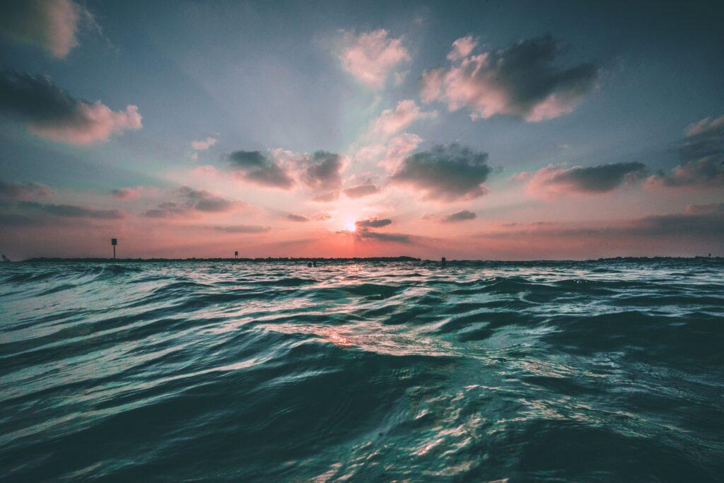 aquecimento dos oceanos