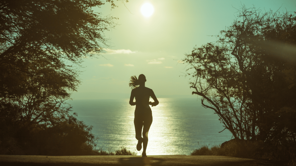 correr ao ar livre
