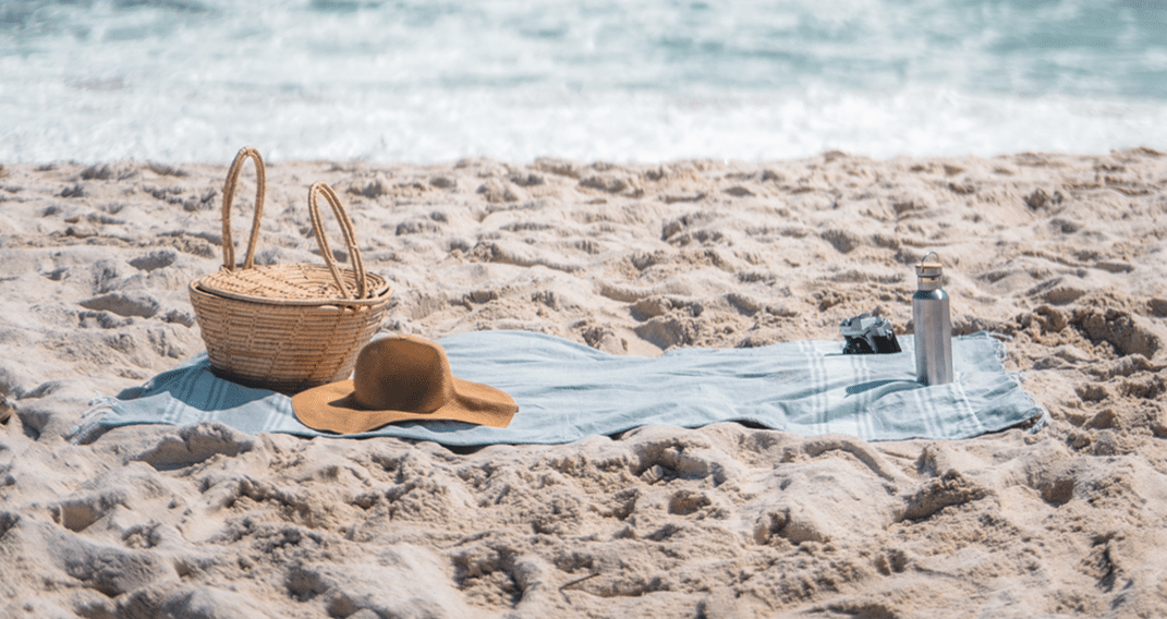 acessórios de praia